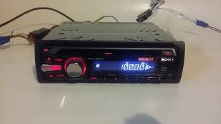 Sony cdx gt 230