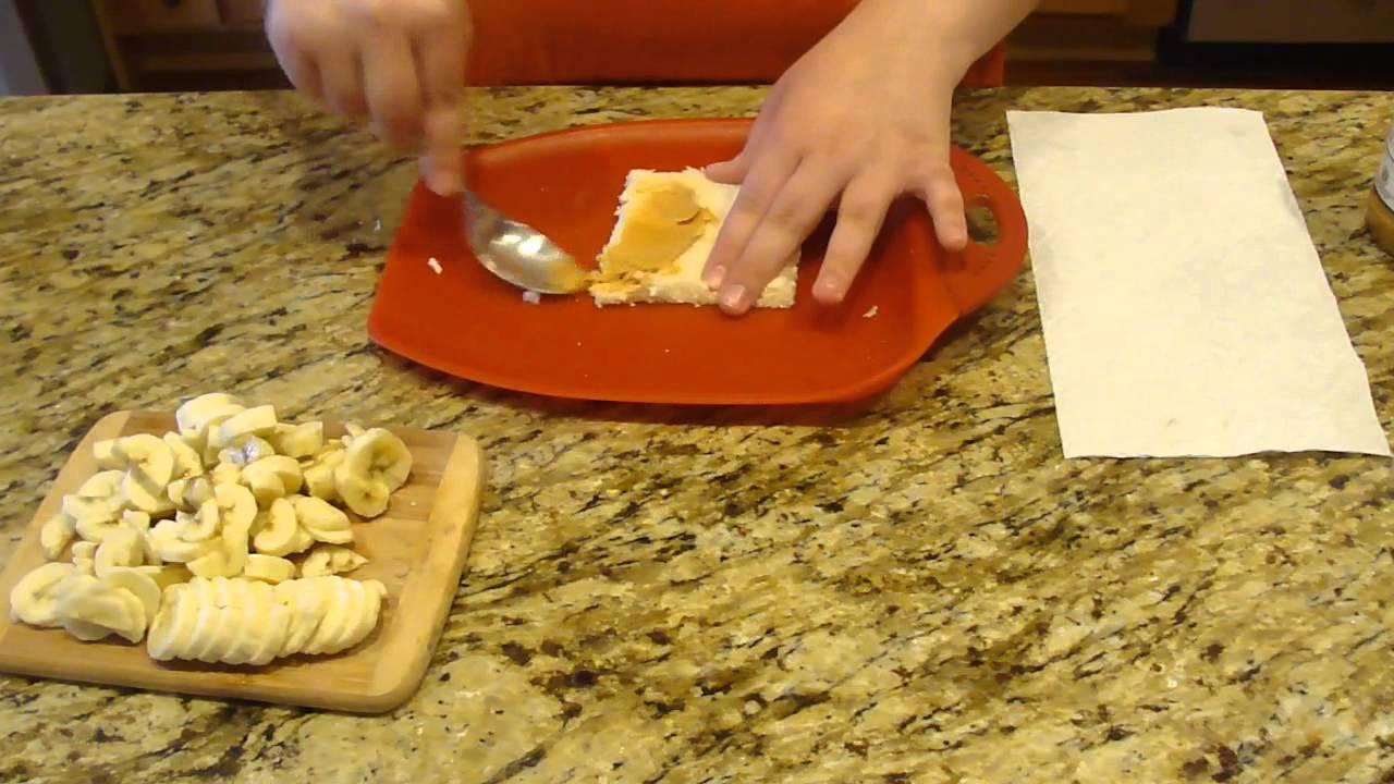 Howto: Peanut Butter Banana French Toast Rollups