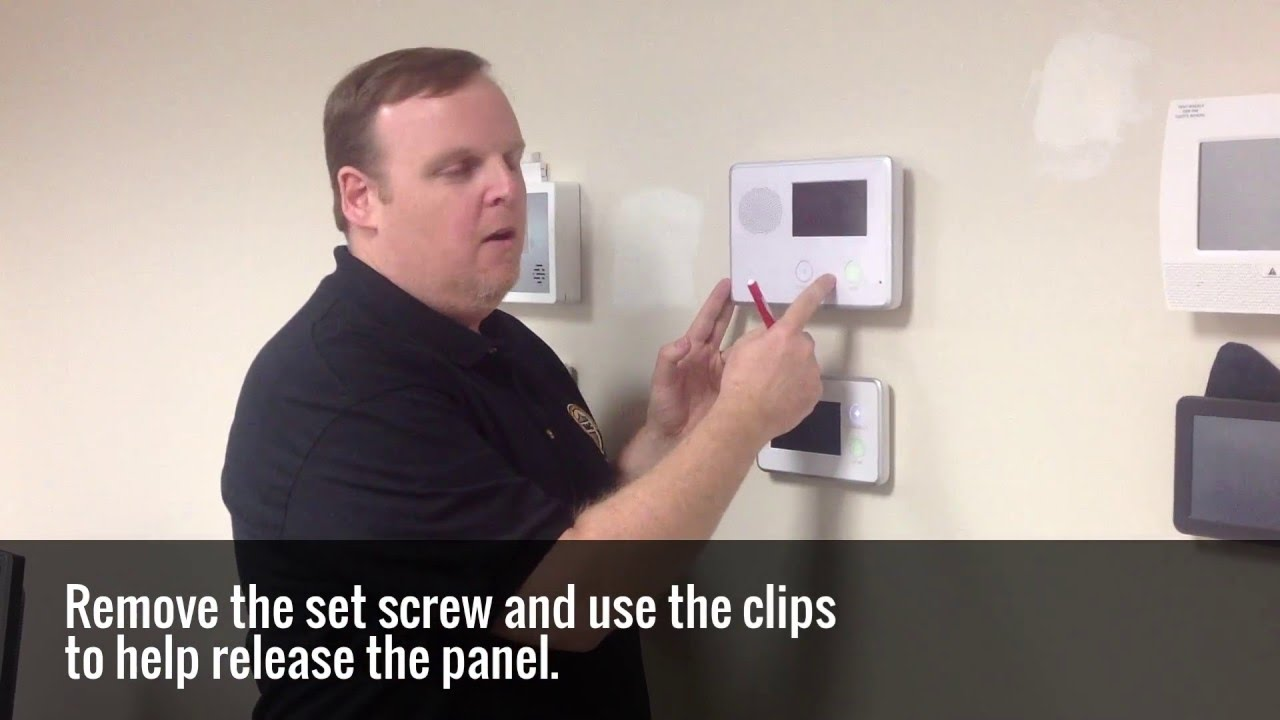 Vivint Alarm System >> How To Change Your Alarm System Battery - YouTube