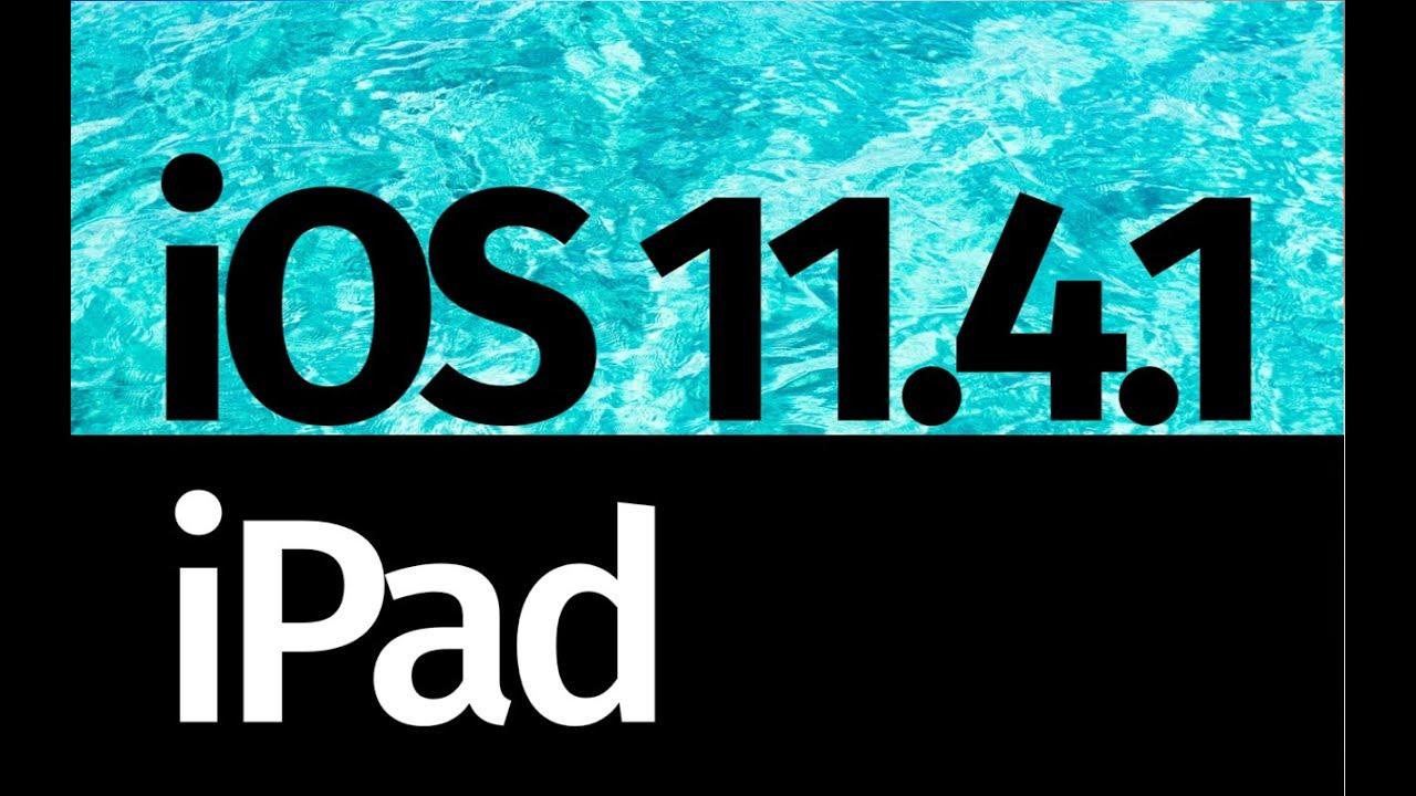 how to get ios 11 on ipad mini 1
