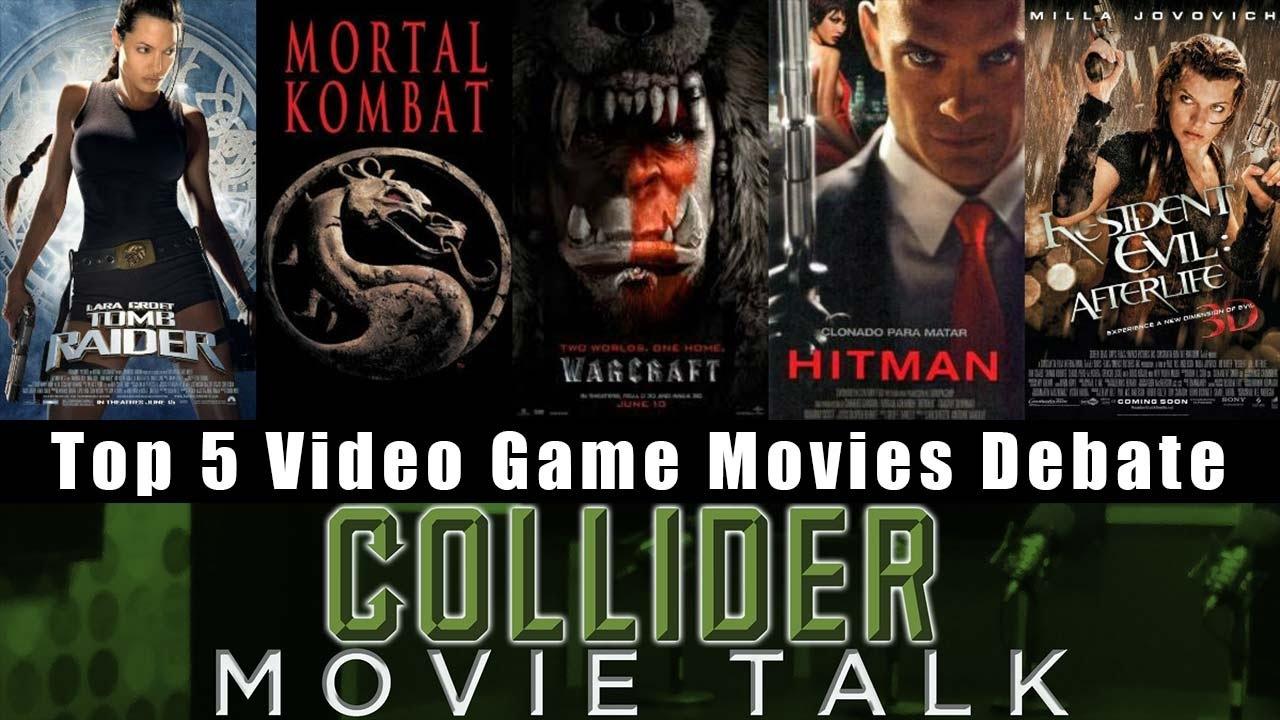 Top 5 Video Game Movie Debate Collider Movie Talk Youtube