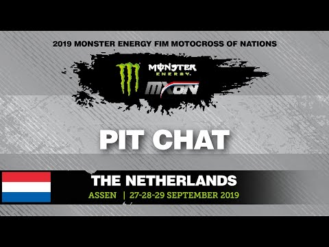 Pit Chat With Gautier Paulin - Monster Energy FIM Motocross Of Nations 2019 The Netherlands 2019 #