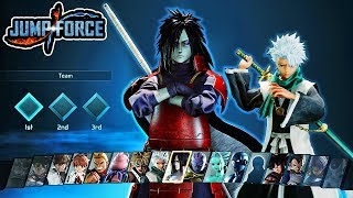 Jump Force - ALL NEW DLC Pack 3 Characters Moveset & Ultimates Gameplay - Madara & Toshiro Gameplay