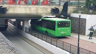 07-09-2017 TS 06-7732 & HV 06-7770 ter plaatse bij bus ongeval bij NS Osseveld in Apeldoorn