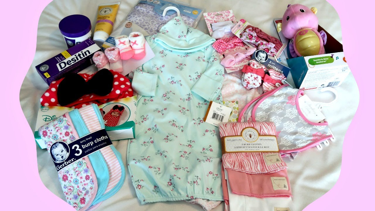 Baby Girl Haul! Newborn Items and Supplies