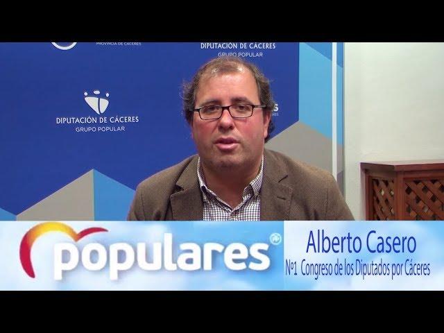 Elecciones Generales 2019: Alberto Casero, Partido Popular