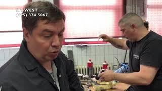 Ремонт двигателя на Рендж Ровер Спорт 5 л, продолжение случая в мае 2018.