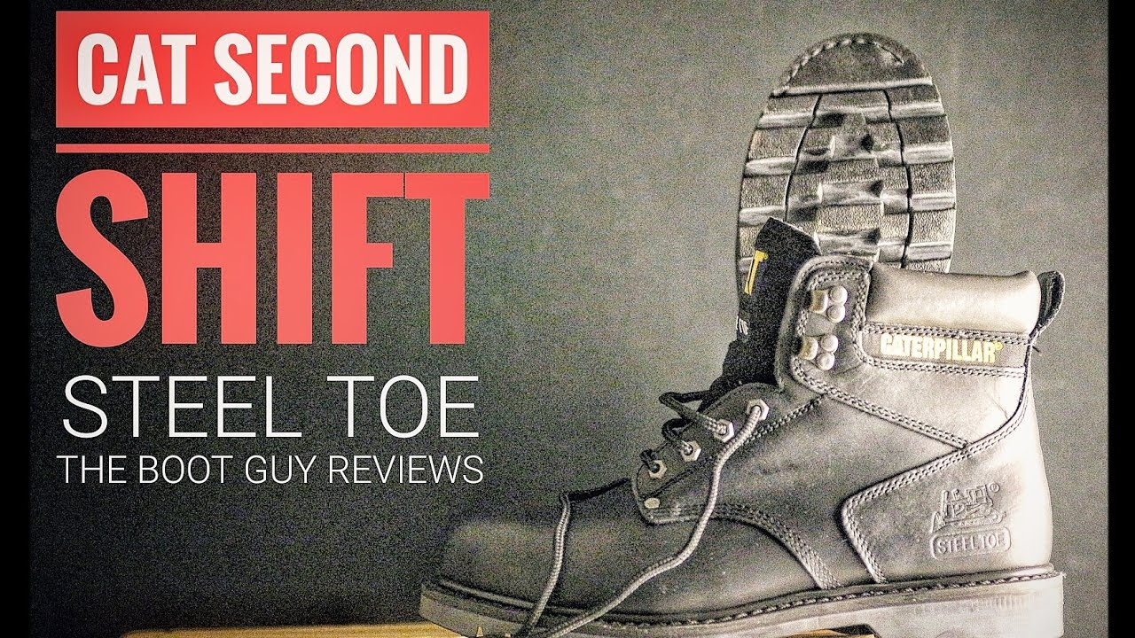1287b23f8686 CAT SECOND SHIFT STEEL TOE   The Boot Guy Reviews   - YouTube