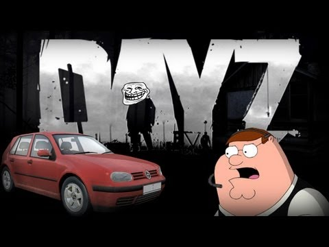 Peter Griffin Plays DayZ