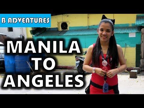Manila to Angeles City Philippines S4, Vlog 41