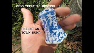 connectYoutube - Ohio Treasure Hunting Dump Digging Jumbo Peanut Butter Jar