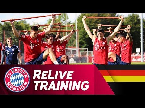 LIVE | FC Bayern Training mit Rudy, Süle & dem ganzen Kader
