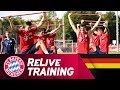 ReLive | FC Bayern Training w/ Rudy, Süle & the whole team