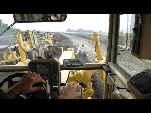 Cat 16M, 14M, 14H, 14H - Grader Train