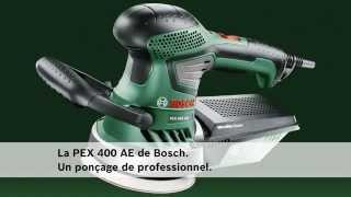 Ponceuse excentrique Bosch PEX 400 AE