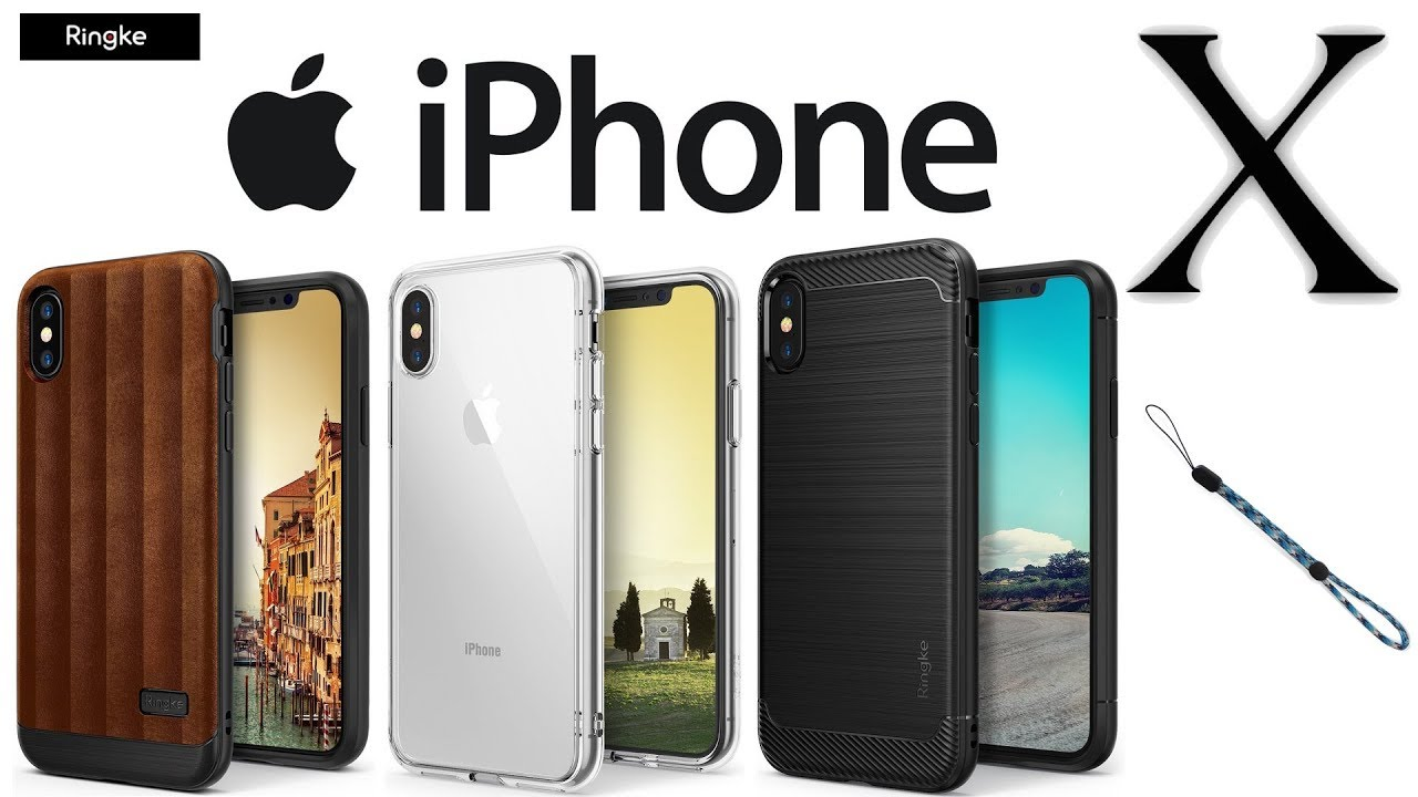 caf7368a8 iPhone X - Best iPhone X Cases From Ringke! [Review] - YouTube