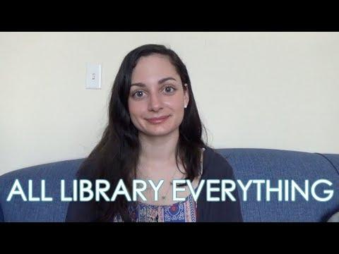 My Library Job & Last Semester of Library School