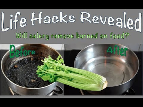 Clean burnt pots and pans hack: Life Hacks Revealed