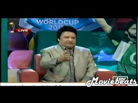 Umar Sharif Funny Reaction After Pakistan Vs India Cricket World Cup Match
