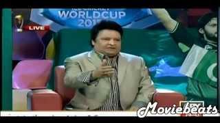 Umar Sharif Funny Reaction After Pakistan vs india Cricket World Cup Match