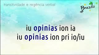 OPINII verbo em Esperanto