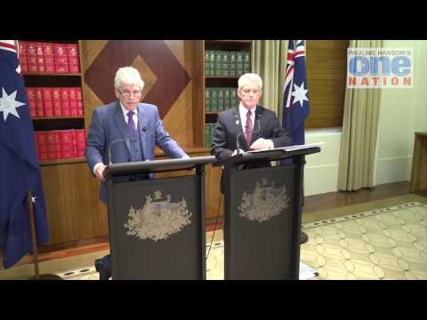 AUDIT OF 'FINKEL REVIEW' - PRESS CONFERENCE