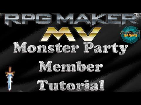 RPG Maker MV Tutorial Monster Party Members