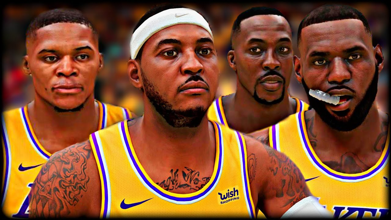 I Put The NEW LAKERS In Their PRIME after Free Agency…