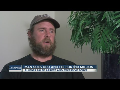 Man arrested for bank robbery files $10 million suit against Denver Police Department