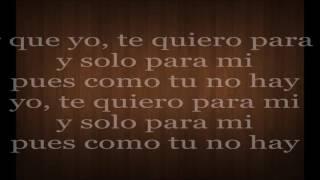 ChocQuibTown - Nuqui (Te Quiero Para Mi) (Letra)