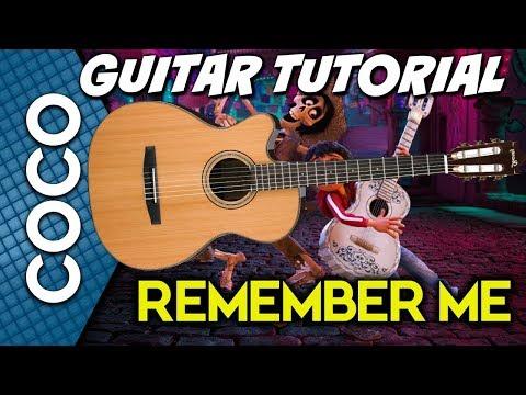 Remember Me - Coco GUITAR TUTORIAL (Miguel Version)