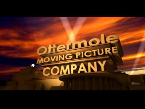 Ottermole Moving Picture Company logo using Blender