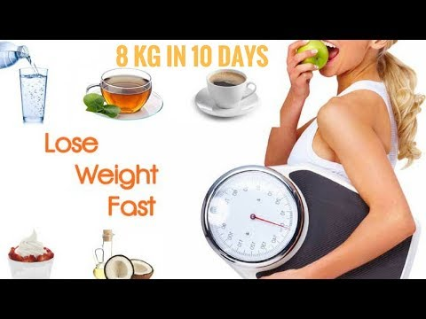 How To Lose Weight Fast 8Kg in 10 Days! Winter Diet Plan For Weight Loss  8 Kgs