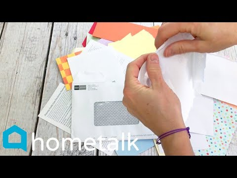 DIY Seed Paper | Combine junk mail and seeds to make this $5 gift! | Hometalk