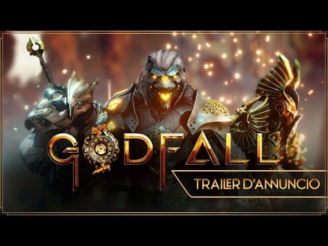 GodFall | Trailer d'annuncio | PS5