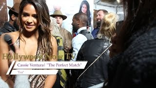 Terrence J, Cassie Talk 'The Perfect Match'
