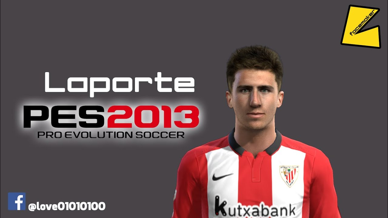 Pes2013 aymeric laporte new face hair by for Laporte news