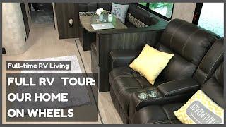 FULL RV TOUR - HOW WE LIVE IN A TRAVEL TRAILER ???????? | OPEN RANGE 3110BH | Full-Time Rv Living |