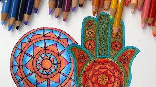 Episode 3: How to Use Colored Pencils to Color Mandalas
