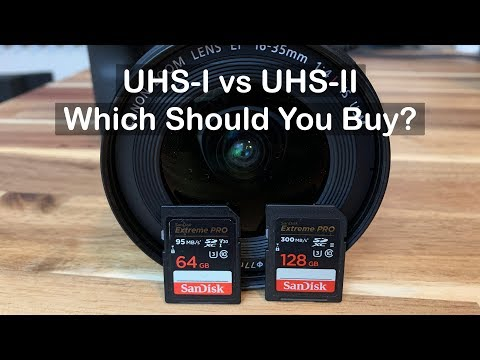 Canon EOS R SD Card Test -  UHS I Vs UHS II