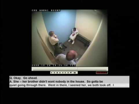FULL 50min Police Interview of Killer of Jennifer Hudson family - Oct. 24, 2008