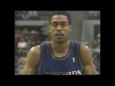 Rod Strickland  24 Points 7 Ast @ Detroit, 1999.