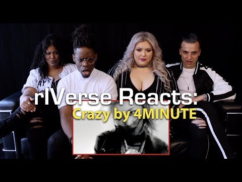 rIVerse Reacts: Crazy by 4MINUTE - MV Reaction