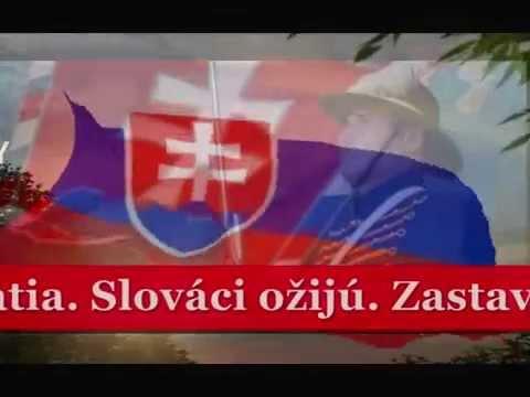 Slovakia anthem karaoke with lyrics played by Larysa Smirnoff