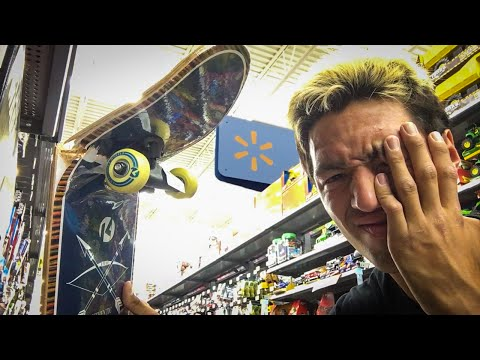 $15 SKATEBOARD?!  WALMART SKATING FAILS