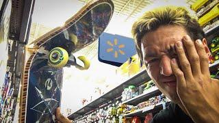 $15 SKATEBOARD?!  WALMART SKATING FAILS