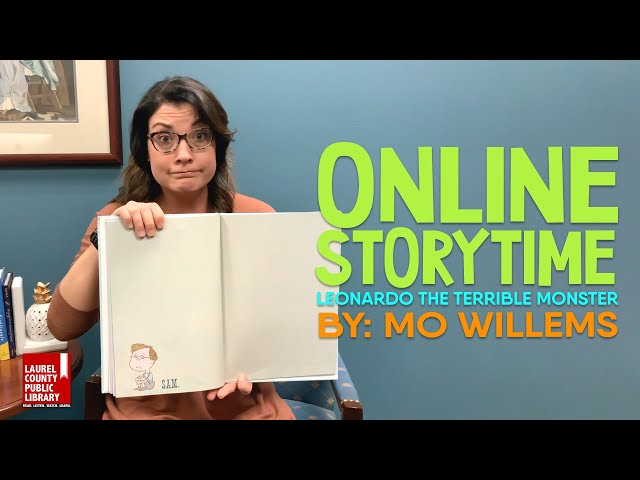 Online Storytime: Leonardo the Terrible Monster by Mo Willems