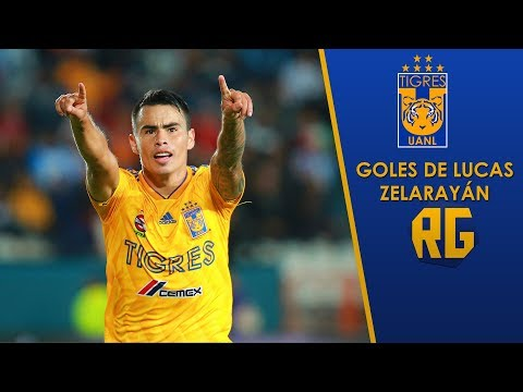 Los 19 Goles De Lucas Zelarayán Con Tigres HD