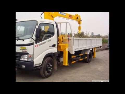 Cho thue Xe tải gắn cẩu | Cần Cẩu tự hành gọi : 0936861799