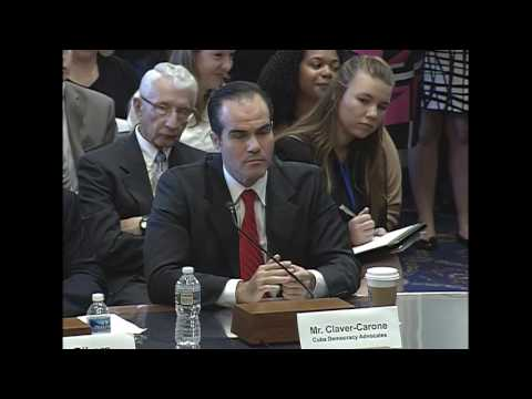 Full Committee – Public Hearing RE: American Agricultural Trade with Cuba